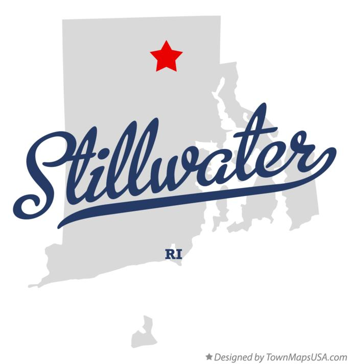 Map of Stillwater Rhode Island RI