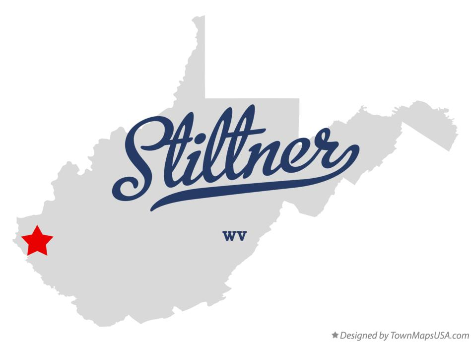 Map of Stiltner West Virginia WV