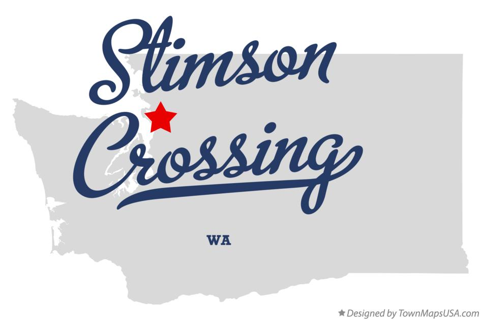 Map of Stimson Crossing Washington WA