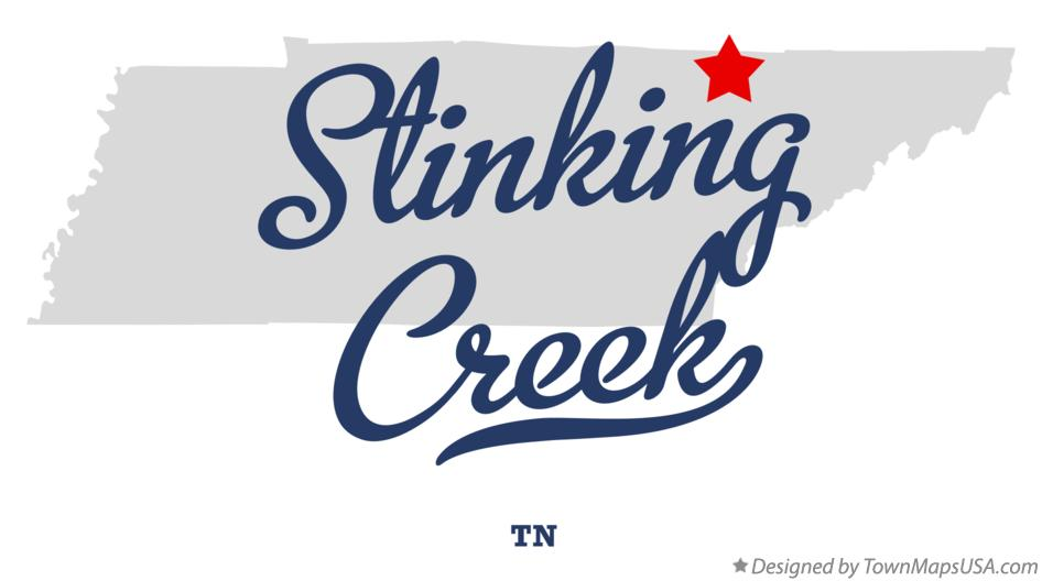 Map of Stinking Creek Tennessee TN