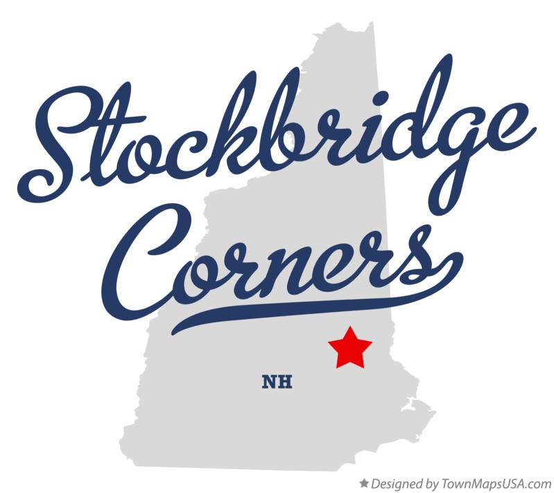 Map of Stockbridge Corners New Hampshire NH