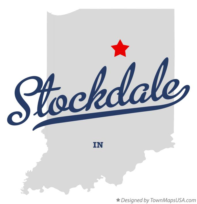 Map of Stockdale Indiana IN