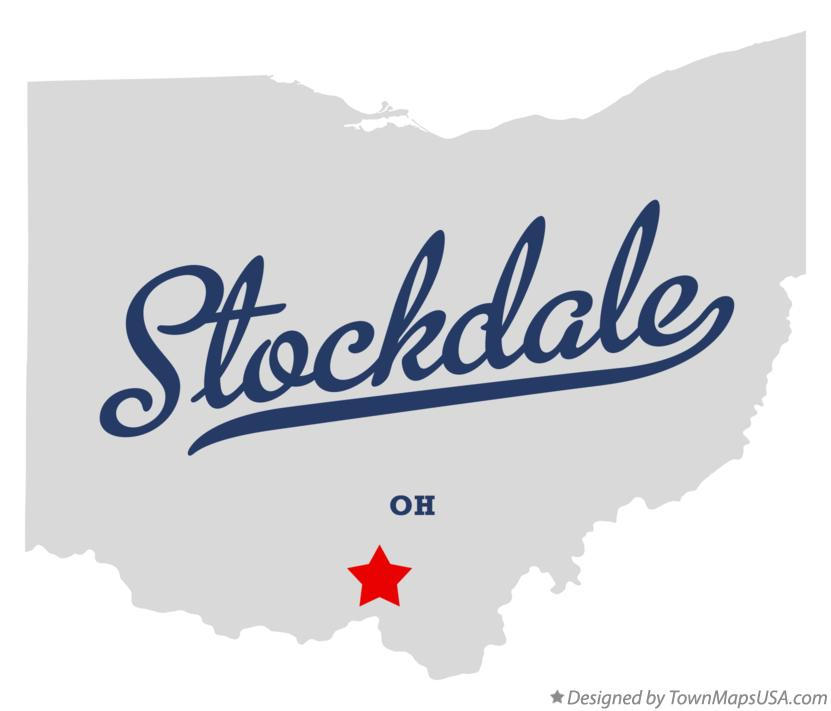 Map of Stockdale Ohio OH
