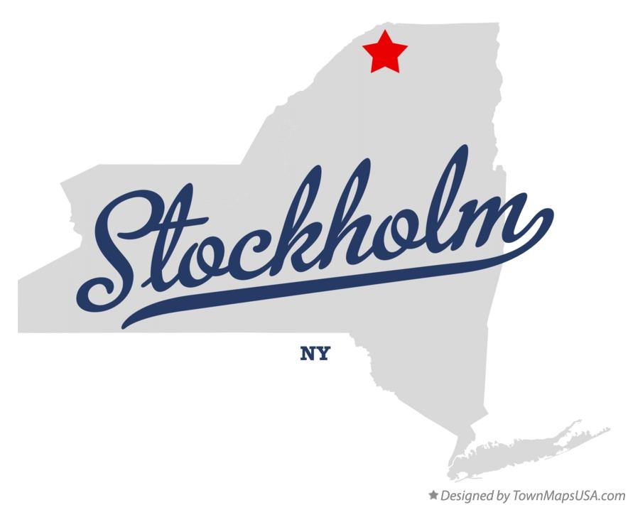 Map of Stockholm New York NY
