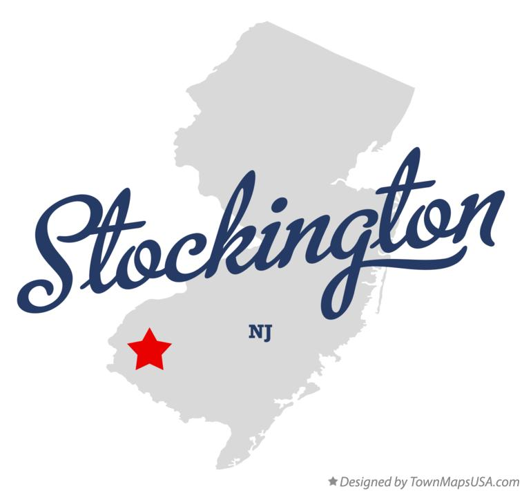 Map of Stockington New Jersey NJ