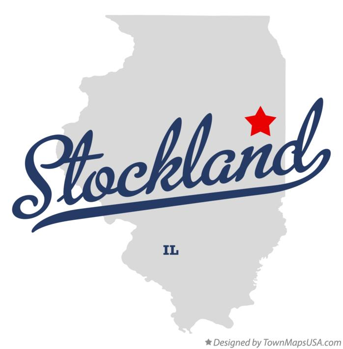 Map of Stockland Illinois IL