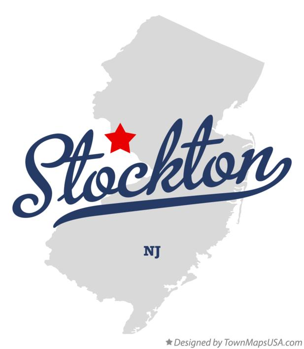 Map of Stockton New Jersey NJ