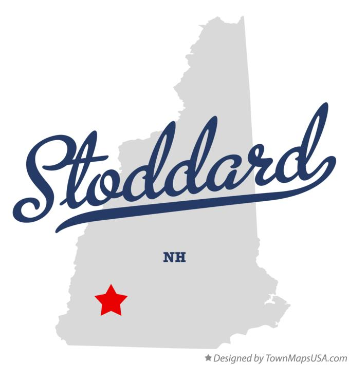 Map of Stoddard New Hampshire NH