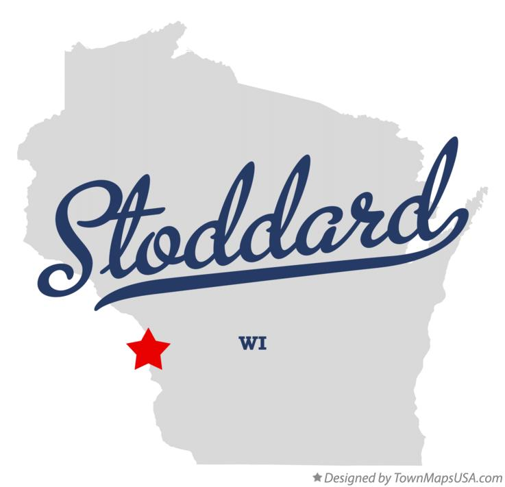 Map of Stoddard Wisconsin WI