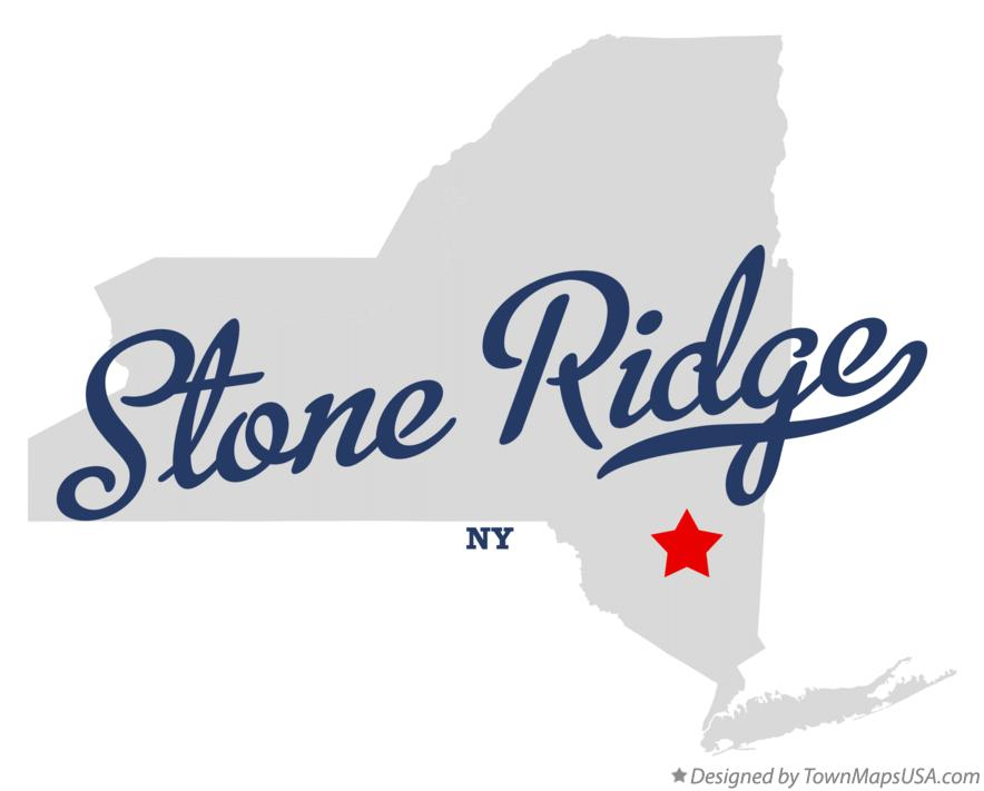 Map of Stone Ridge New York NY