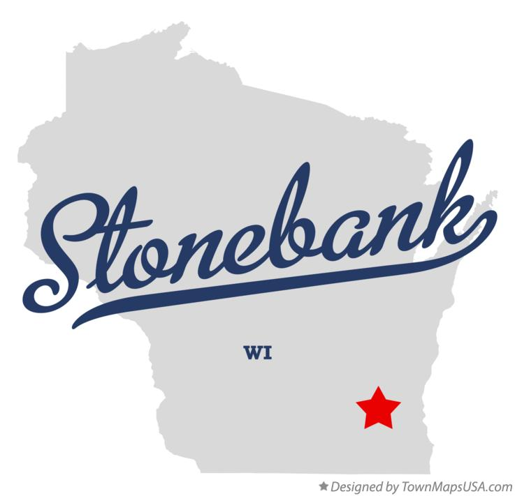 Map of Stonebank Wisconsin WI