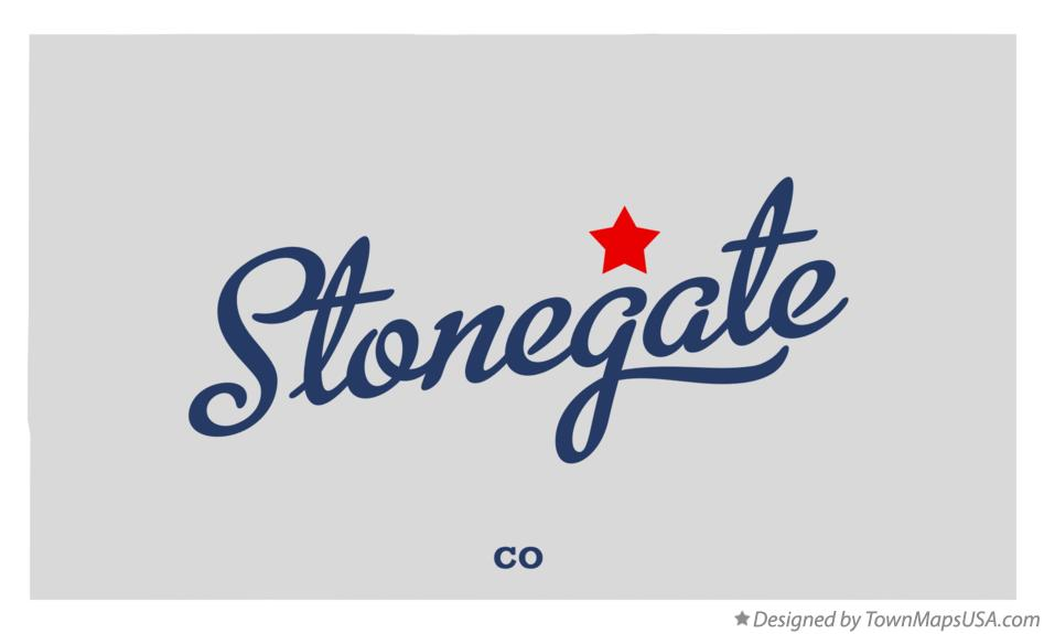 Map of Stonegate Colorado CO