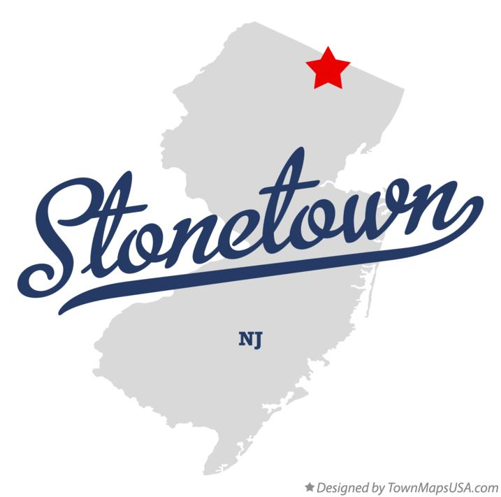 Map of Stonetown New Jersey NJ