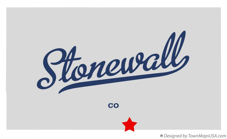 Map of Stonewall Colorado CO