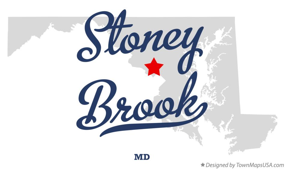 Map of Stoney Brook Maryland MD