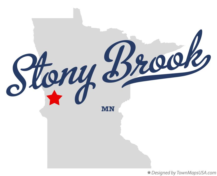 Map of Stony Brook Minnesota MN