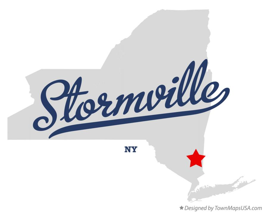 Map of Stormville New York NY