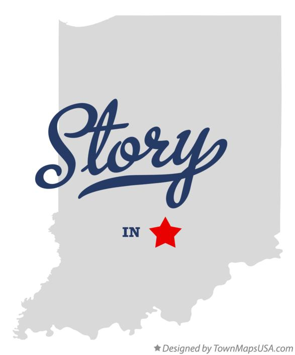Map of Story Indiana IN