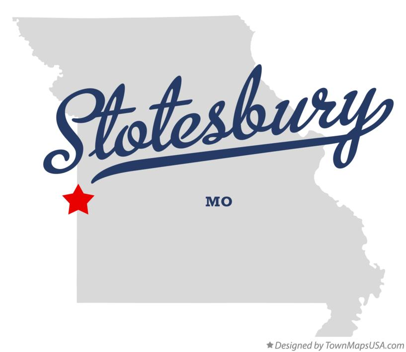 Map of Stotesbury Missouri MO