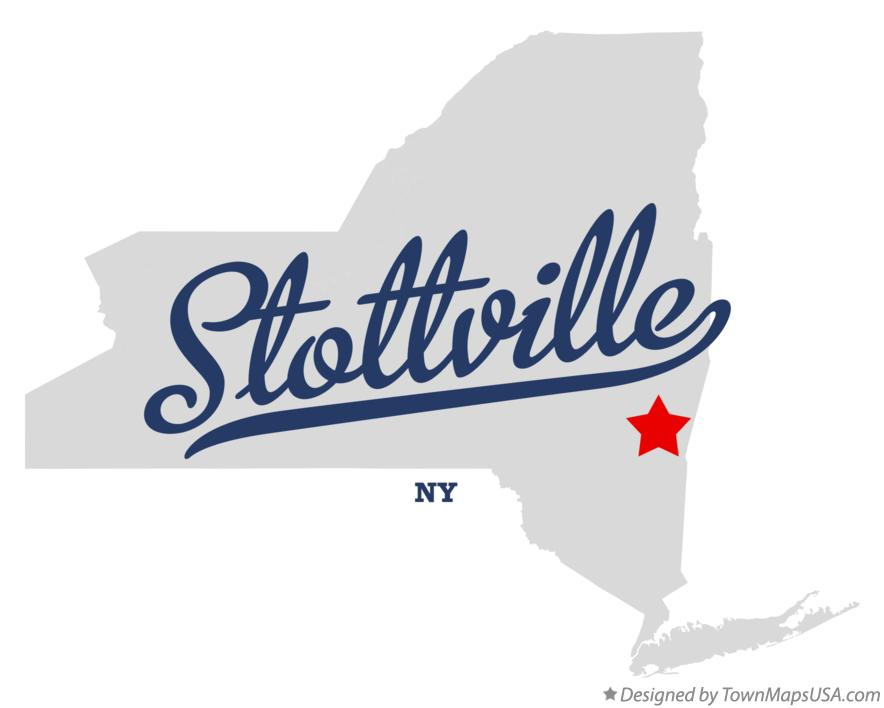 Map of Stottville New York NY