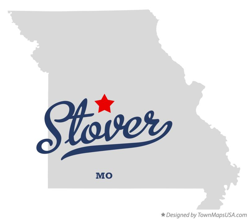 Map of Stover Missouri MO