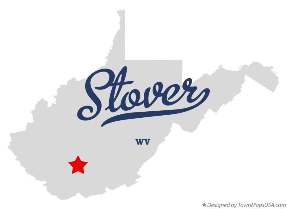 Map of Stover West Virginia WV