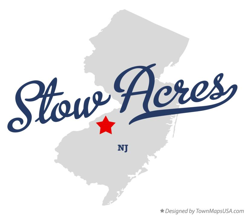 Map of Stow Acres New Jersey NJ