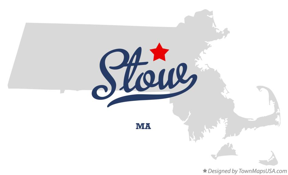 Map of Stow Massachusetts MA