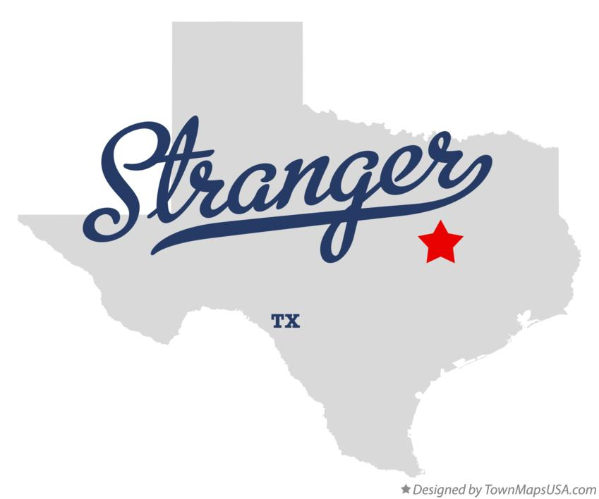 Map of Stranger Texas TX