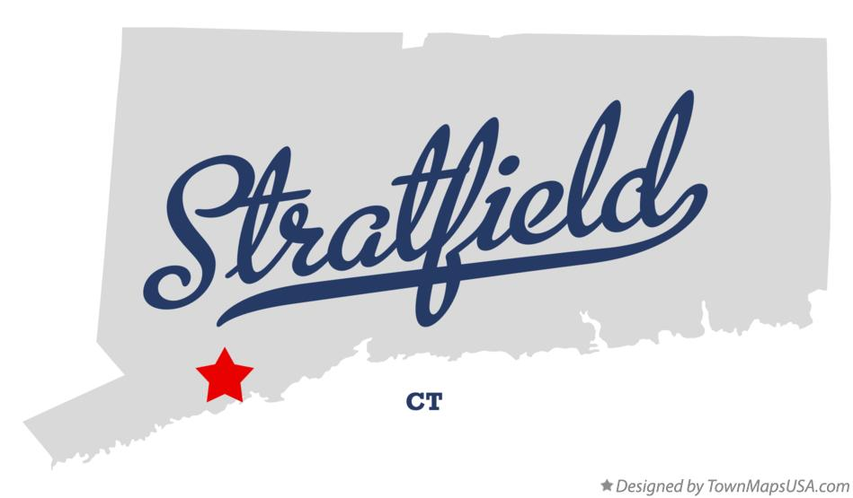 Map of Stratfield Connecticut CT