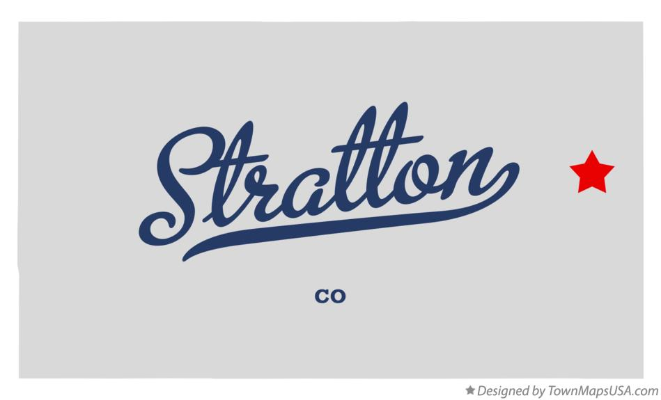 Stratton (CO) United States  city photos gallery : Map of Stratton, Kit Carson County, CO, Colorado