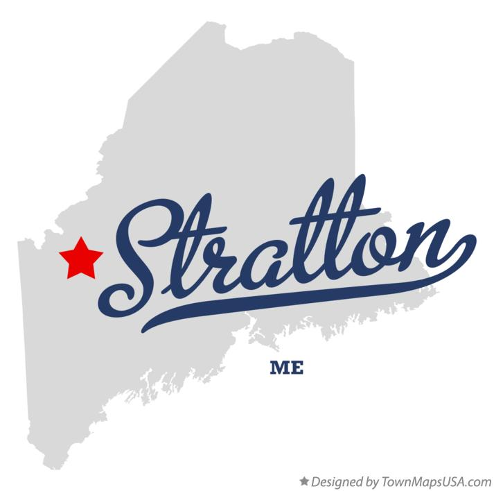 Map of Stratton Maine ME