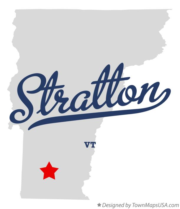 Map of Stratton Vermont VT