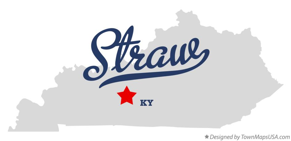 Map of Straw Kentucky KY