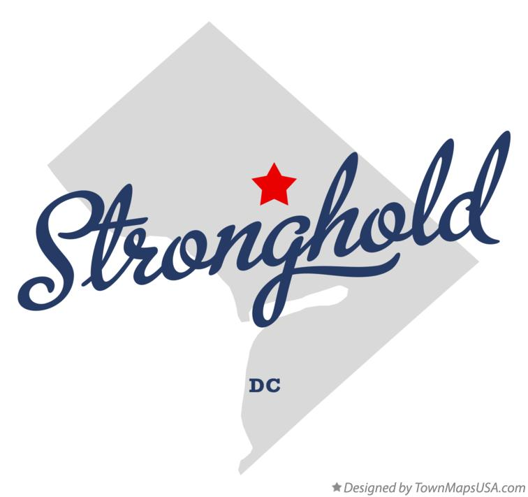Map of Stronghold District Of Columbia DC