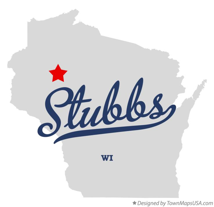 Map of Stubbs Wisconsin WI