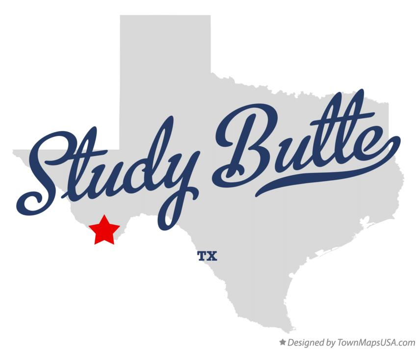 Map of Study Butte Texas TX