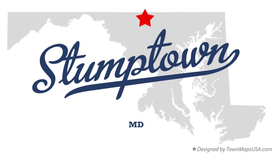 Map of Stumptown Maryland MD