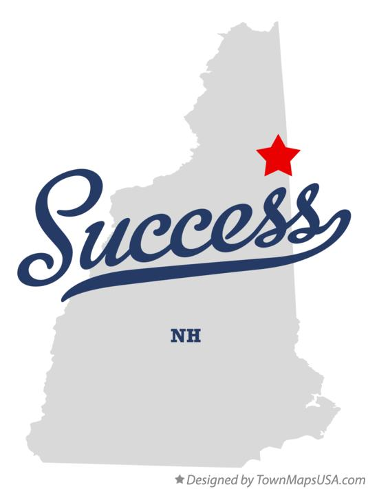 Map of Success New Hampshire NH