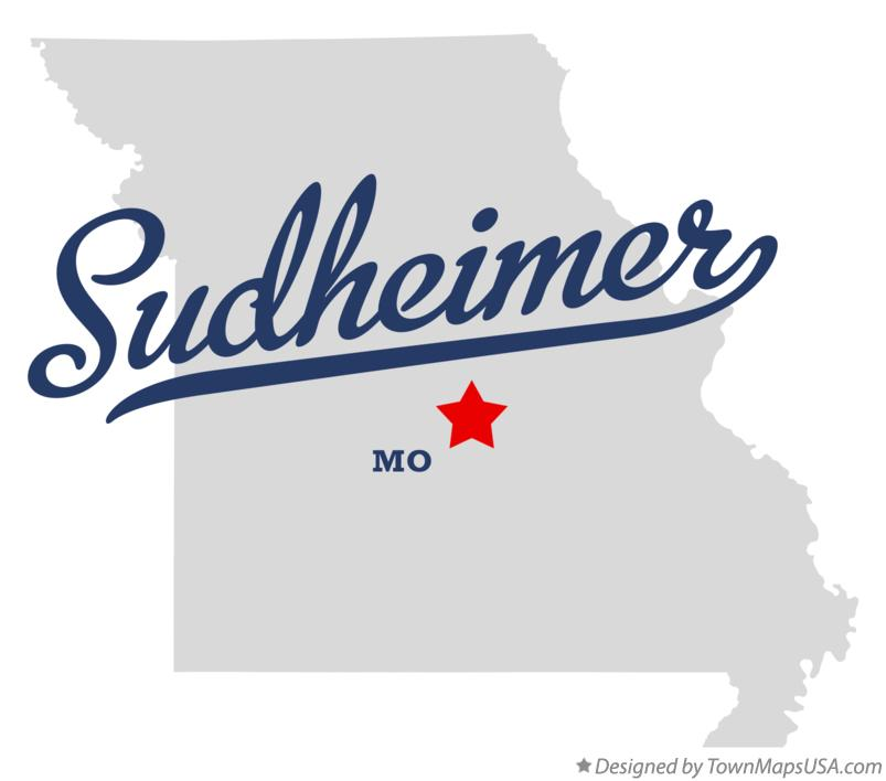 Map of Sudheimer Missouri MO