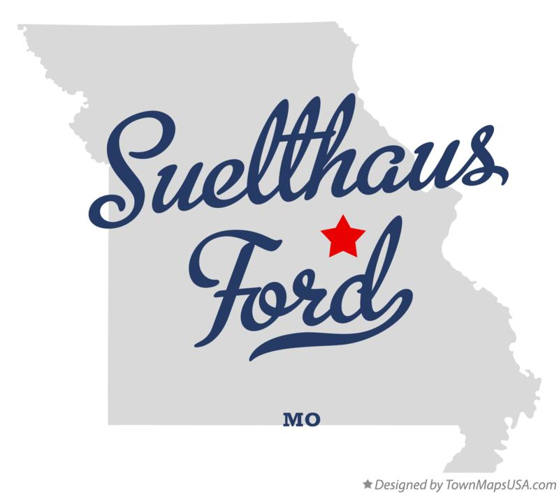 Map of Suelthaus Ford Missouri MO
