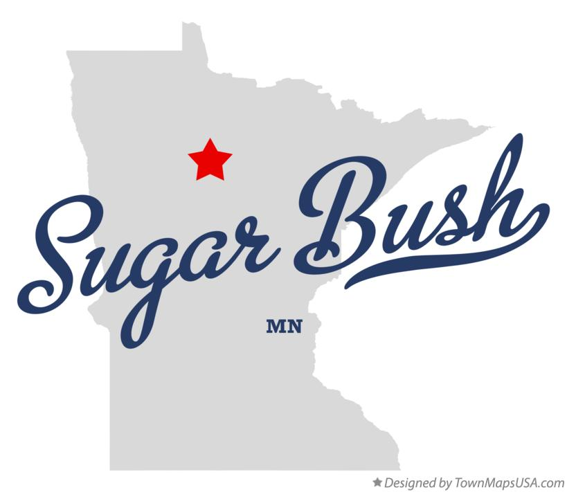 Map of Sugar Bush Minnesota MN