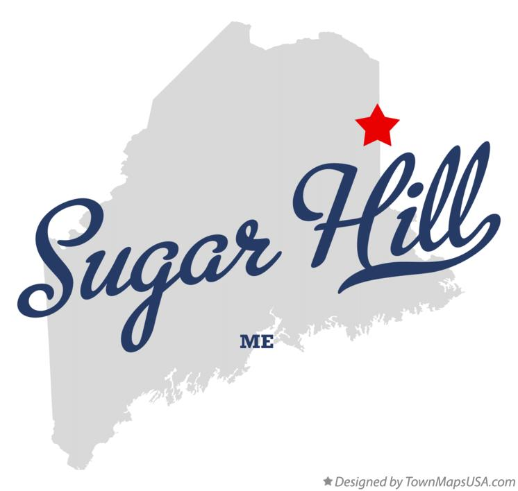 Map of Sugar Hill Maine ME