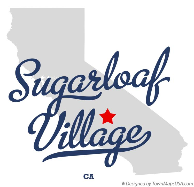 Map of Sugarloaf Village California CA