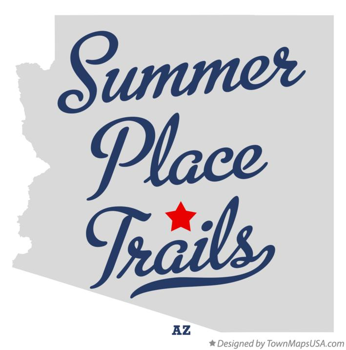 Map of Summer Place Trails Arizona AZ