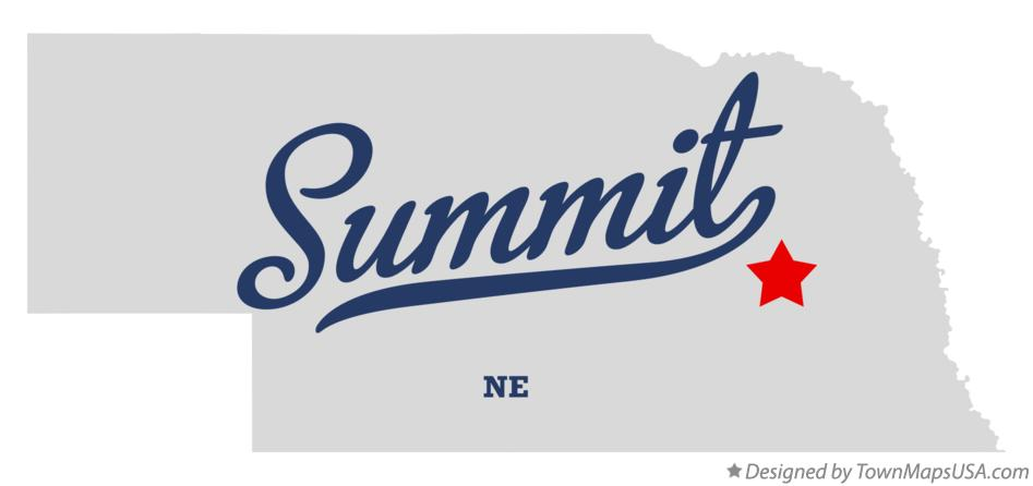 Map of Summit Nebraska NE