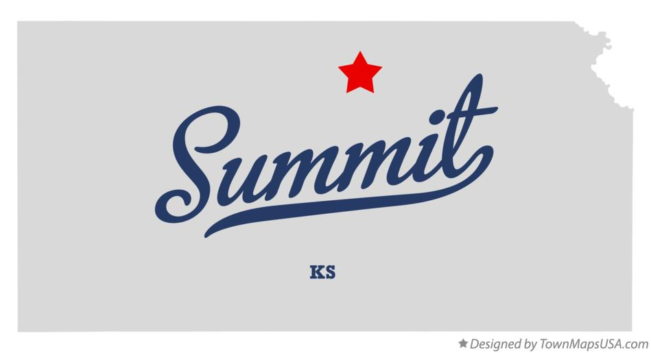 Map of Summit Kansas KS