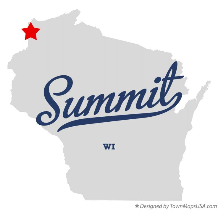 Map of Summit Wisconsin WI