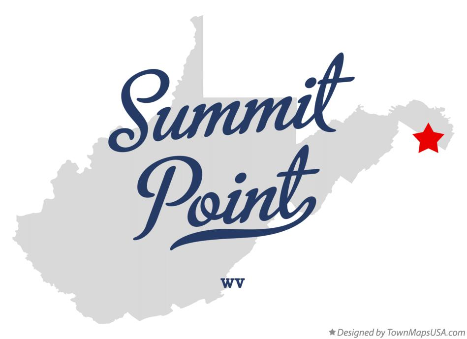 Map of Summit Point West Virginia WV