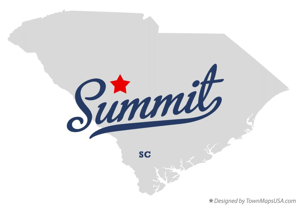 Map of Summit South Carolina SC